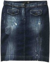 Just Cavalli Blue Denim - Jeans Skirt for Women