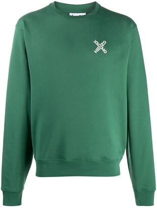 Kenzo X logo print sweatshirt