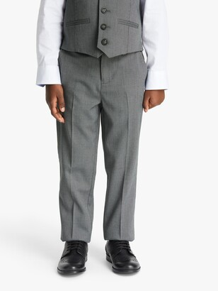 John Lewis /& Partners Heirloom Collection Boys/' Linen Suit Trousers Navy
