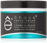eShave Shave Cream, Cucumber 118 ml