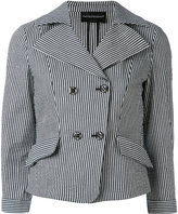 Emporio Armani striped blazer