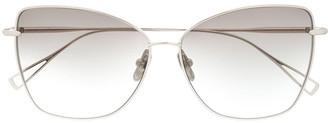 Cat Eye Hyakkaryoran I square cat-eye sunglasses