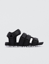White Mountaineering Vibram Sole Taped Sandals