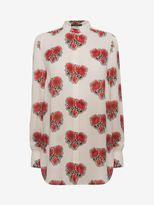 Alexander McQueen Poppy Print Shirt