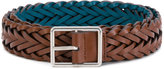 Paul Smith woven buckled belt