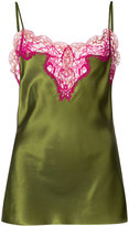 Marques Almeida Marques'almeida - lame-trimmed camisole - women - Silk - L
