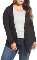 Nic+Zoe Plus Size Women's Paired Up Silk Blend Cardigan