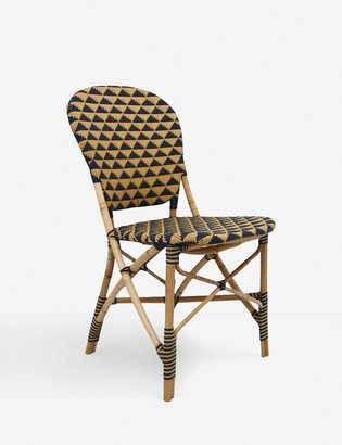 Lulu & Georgia Theyla Indoor / Outdoor Dining Chair, Natural and Black