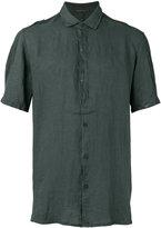 Transit - short sleeve shirt - men - Linen/Flax - M