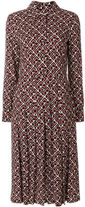 La DoubleJ Domino Rosa shirt dress