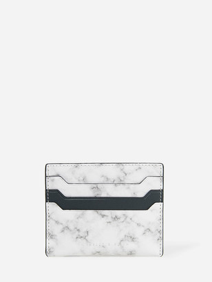 Charles & Keith Two-Tone Multi Slot Card Holder