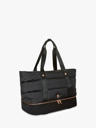 Sweaty Betty Icon Luxe Gym Bag, Black