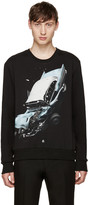Christopher Kane Black Car Crash Pullover