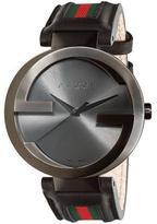 Gucci Interlocking Collection YA133206 Men's Analog Watch
