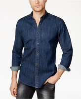 INC International Concepts Men's Button-Down Denim Shirt, Created for Macy's