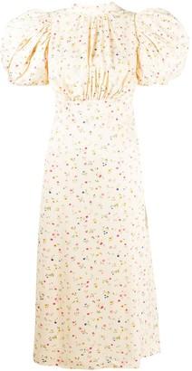 Rotate by Birger Christensen Floral Print Dress