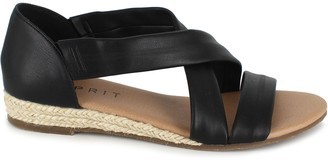Esprit Pull On Criss Cross Sandals - Cassie