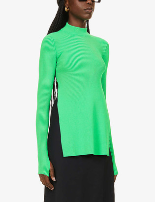 Sportmax Lisetta high-neck knitted top
