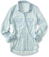 Aeropostale Prince & Fox Light Wash Chambray Button Down