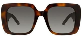 Christian Dior Wildior 55MM Square Sunglasses