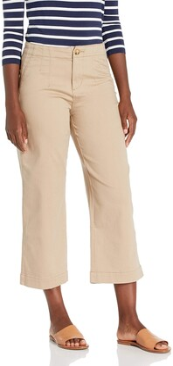 Jag Jeans Women's Alicia Wide Leg Crop Pant