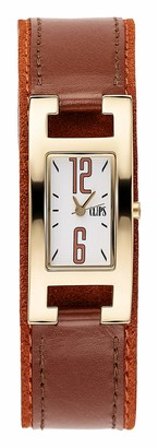 Clips Women's Quartz Watch 553-1006-16 with Leather Strap