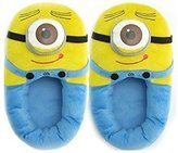 Cute Slippers 1 X Despicable Me 3D Eyes Minion Stewart Soft Plush Doll Adult Plush Slippers