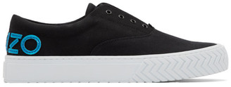 Kenzo Black Limited Edition Holiday K-Skate Sneakers