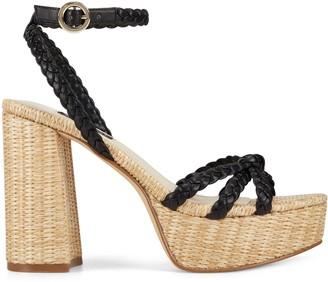 Nine West Rylin Block Heel Ankle Strap Sandals