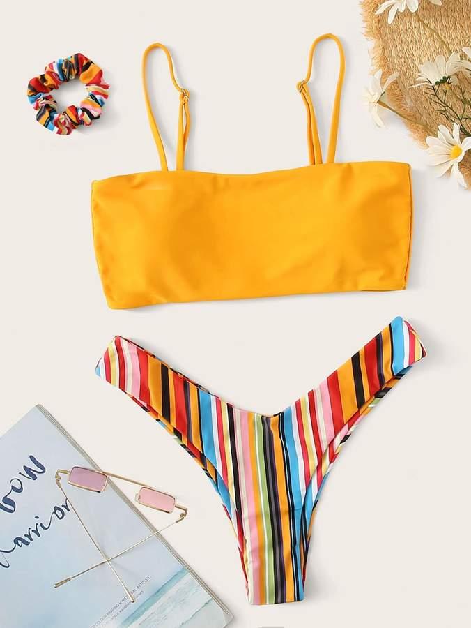 27865a02d0 Rainbow Stripe Bikini - ShopStyle