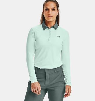 Under Armour Women's UA Zinger Long Sleeve Polo