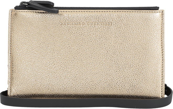 Brunello Cucinelli Metallic Wallet