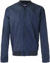 Woolrich denim bomber jacket