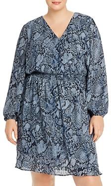 Aqua Curve Printed Smocked-Waist Dress - 100% Exclusive