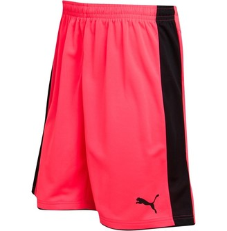 Puma Mens Tournament Goalkeeper Shorts Fluro Pink