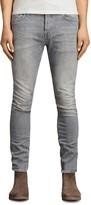 AllSaints Greaves Cigarette Slim Fit Jeans in Gray