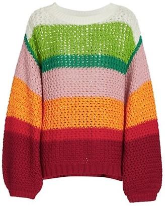 Farm Rio Rainbow Sweater
