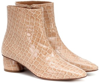 LOQ Matea patent leather ankle boots