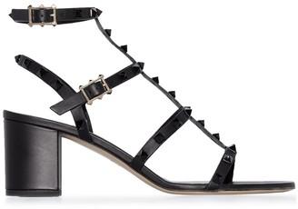 Valentino Rockstud caged 60mm sandals