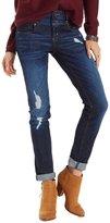Charlotte Russe Refuge Skinny Boyfriend Destroyed Jeans