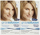 Clairol Nice 'n Easy Gray Solution Hair Color, Medium Blonde (008), 2 pk
