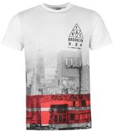 Fabric Mens NYC Graffiti T Shirt Tee Top Cotton Short Sleeve Crew Neck
