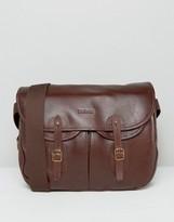 Barbour Leather Tarras Messenger Bag