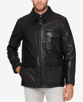 Andrew Marc Men's Lightweight Leather Jacket