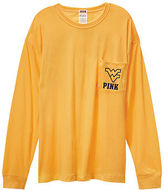 Victoria's Secret Victorias Secret West Virginia University Long Sleeve Campus Tee