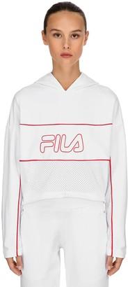 Fila Urban Romy Logo Cotton Sweatshirt Hoodie