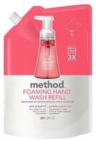 Method Products Foaming Hand Soap Refill Pink Grapefruit 28oz