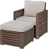 Asstd National Brand Wayne Chair and Ottoman