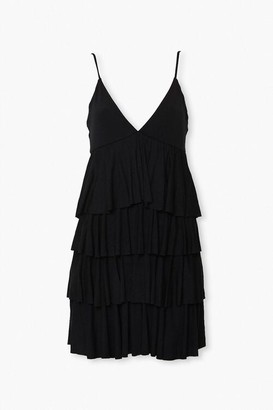 Forever 21 Tiered Flounce Mini Dress