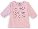 Urban Smalls Light Pink Hearts Tunic - Toddlers & Girls